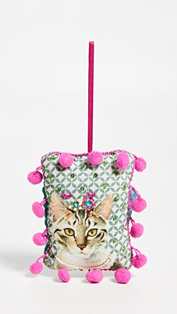 Gift Boutique Embellished Cat Ornament