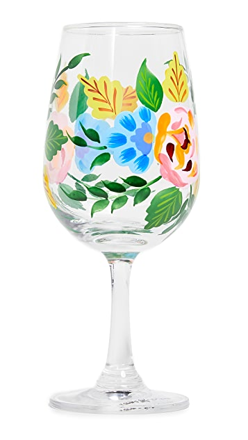 Gift Boutique Hand Painted Wine Glass