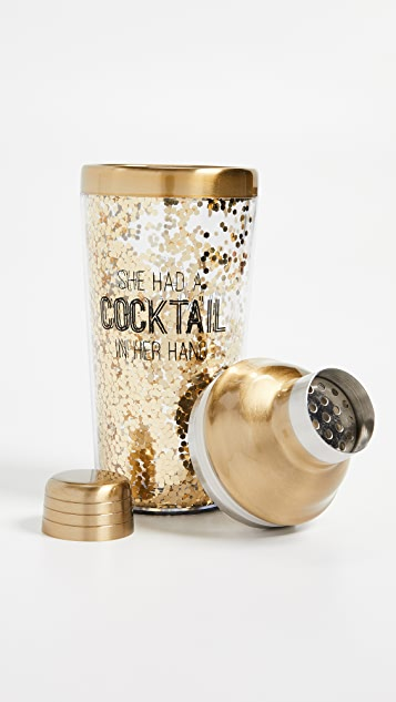 Gift Boutique Happy Hour Insulated Cocktail Shaker