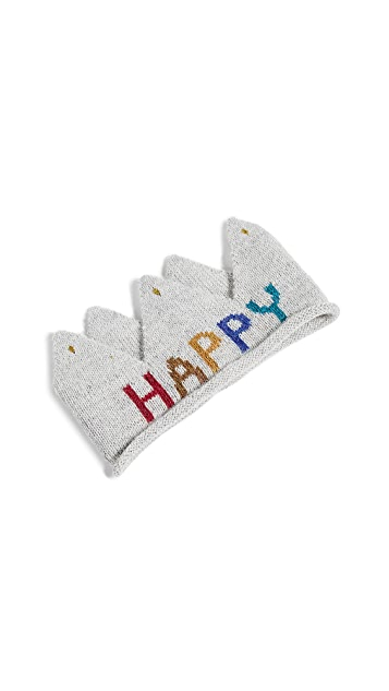 Gift Boutique Kid's Oeuf Happy Crown Hat