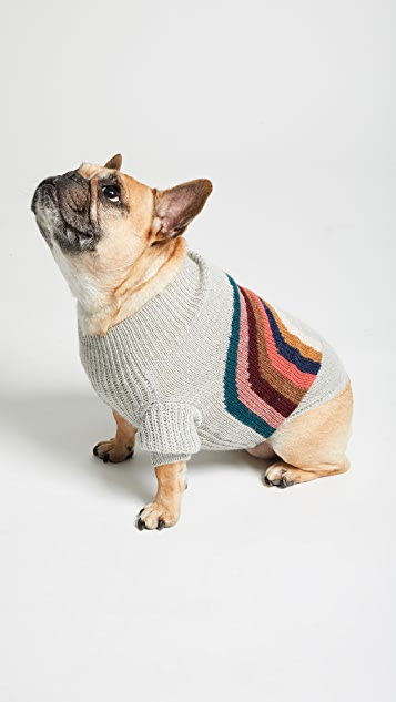 Gift Boutique Pet's Oeuf Rainbow Dog Sweater