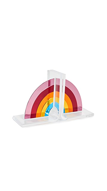 Gift Boutique Tara Wilson Design Rainbow Bookends