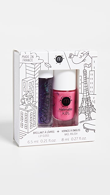 Gift Boutique Kid S Nailmatic Lip Gloss Nail Polish Combo