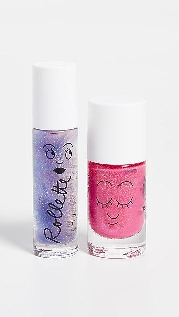 Gift Boutique Kid's Nailmatic Lip Gloss / Nail Polish Combo
