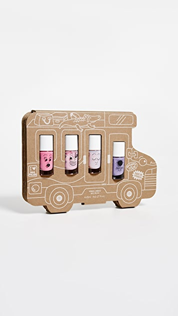 Gift Boutique Kid's Nailmatic Holiday Van Story Nail Polish Set