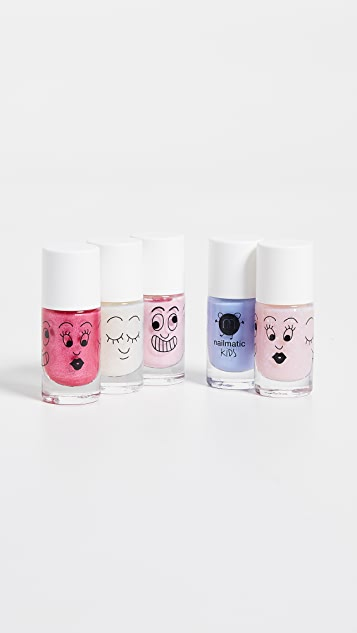 Gift Boutique Kid's Nailmatic Nail Polish 5 Pack