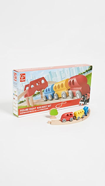 Gift Boutique Kid's Figure Eight Railway Set