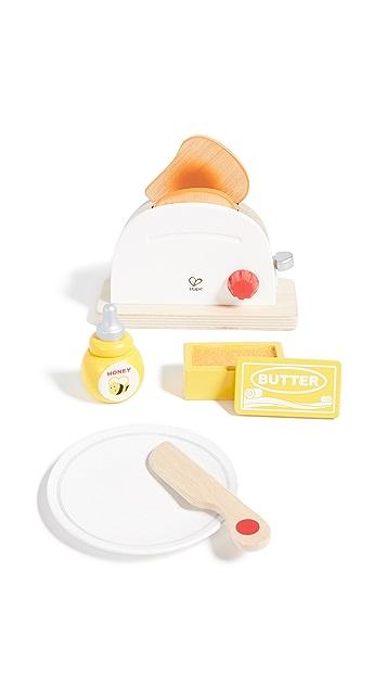 Gift Boutique Kid's Hape Pop Up Toaster Set