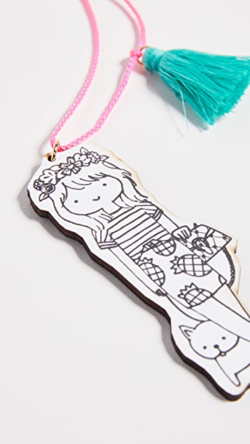 Gift Boutique Kid's Gunner & Lux Mini Fashionista Necklace