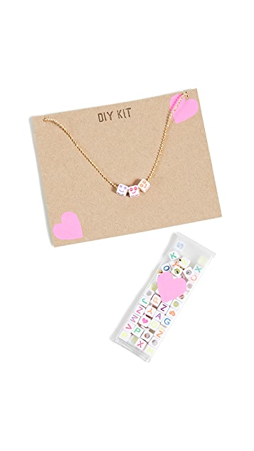 Gift Boutique Kid's Alpha Necklace Kit