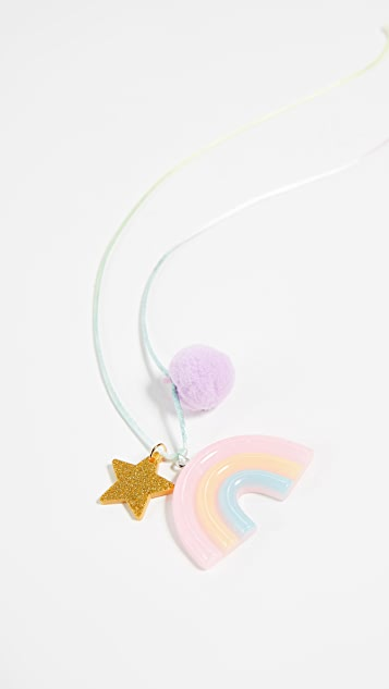 Gift Boutique Kid's Sunshine Necklace with Pom Pom