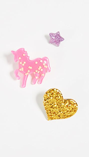 Gift Boutique Kid's Assorted Unicorn Pins