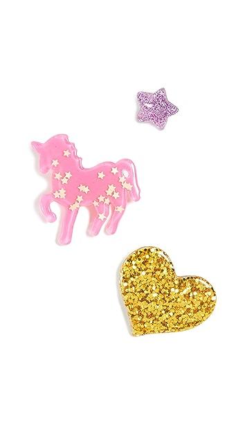 Gift Boutique Детский набор разных значков Unicorn