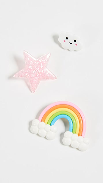 Gift Boutique Kid's Assorted Rainbow Pins