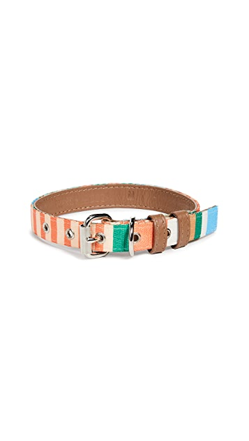 Gift Boutique Pet's Striped Dog Collar
