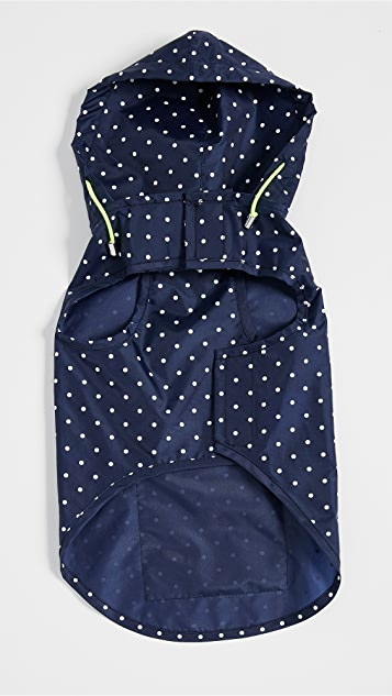 Gift Boutique Pet's Polka Dot Anorak Raincoat