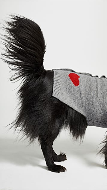 Gift Boutique Pet's Heart Pocket Cashmere Dog Sweater