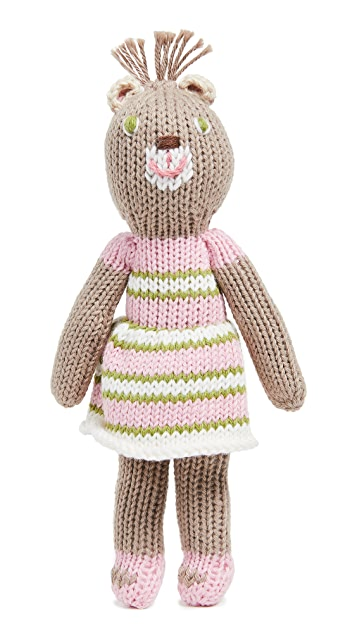 Gift Boutique Kid's School Book Girl Bear Rattle