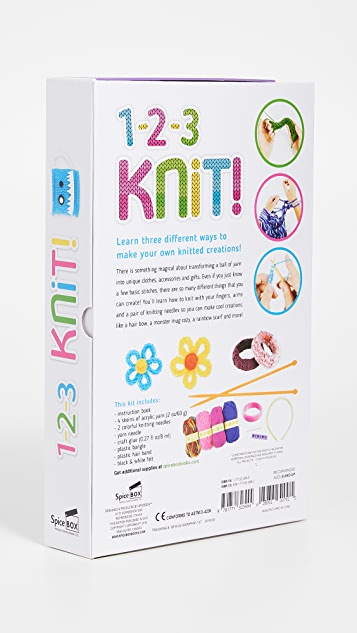 Gift Boutique Kid's 123 Knit Kit