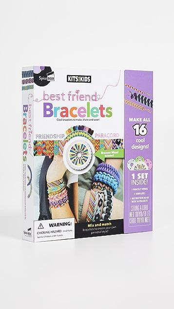 Gift Boutique SpiceBox Kits for Kids Best Friend Bracelets