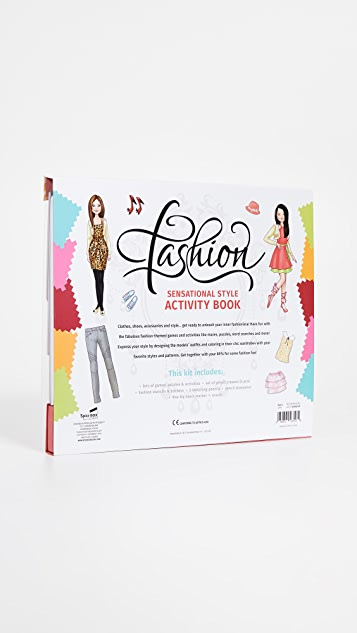 Gift Boutique Kid's Fashion Activity Book