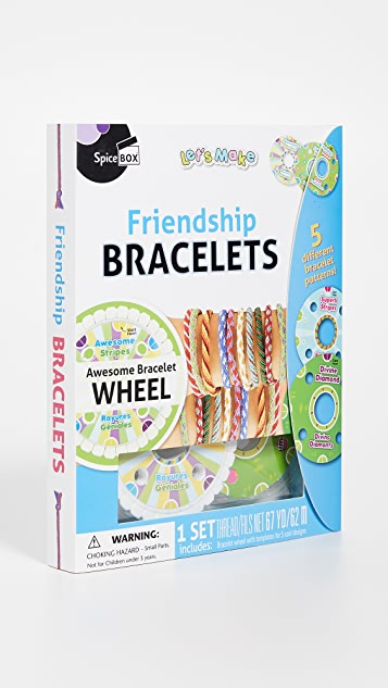 Gift Boutique Kid's Spicebox Friendship Bracelet Kit