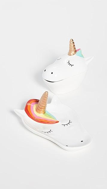 礼品精品店 独角兽小饰品盒