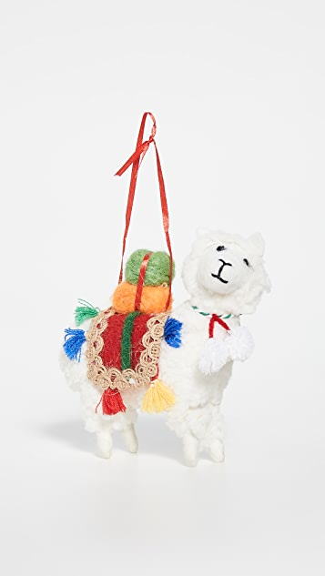 Gift Boutique Llama Ornament