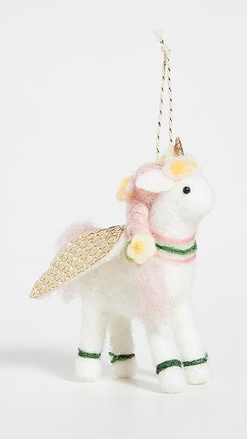 Gift Boutique Unicorn Ornament