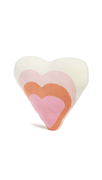 Gift Boutique Kid's Blabla Heart Pillow