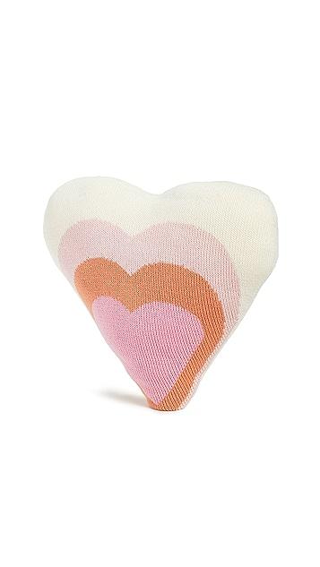 Gift Boutique Детская подушка в виде сердечка Blabla