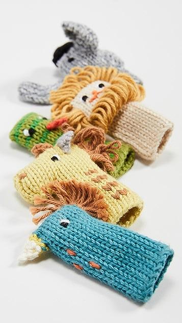 Gift Boutique Набор из пяти детских пальчиковых кукол Blabla Jungle