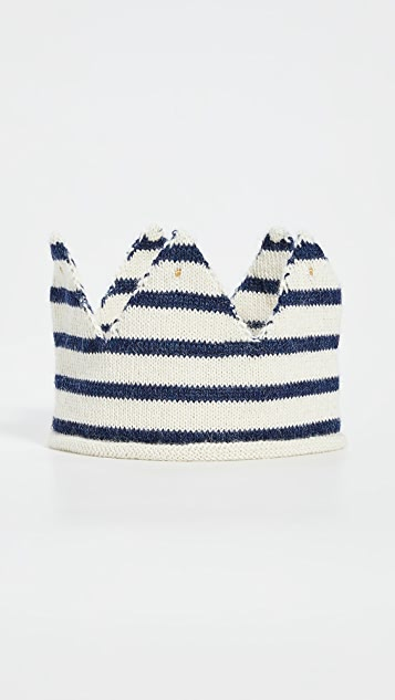 Gift Boutique Детская корона в полоску Oeuf