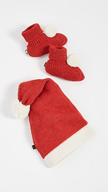 Gift Boutique Kid's Oeuf Santa Hat