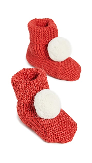 Gift Boutique Kid's Oeuf Santa Booties