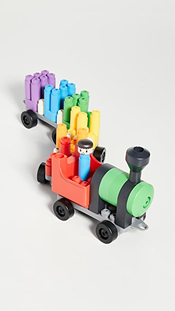 Gift Boutique Детская игра Rainbow Counting Train