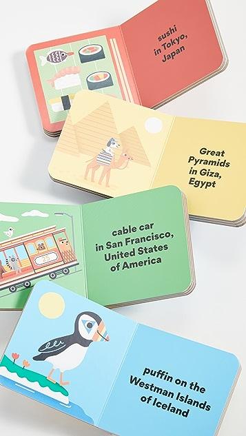 Gift Boutique Набор настольных книг Mudpuppy The Little Traveler