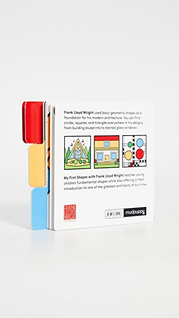 Gift Boutique Книга Mudpuppy My First Shapes with Frank Lloyd Wright