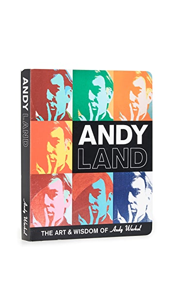 Gift Boutique Mudpuppy Andy Warhol ANDYLAND Book
