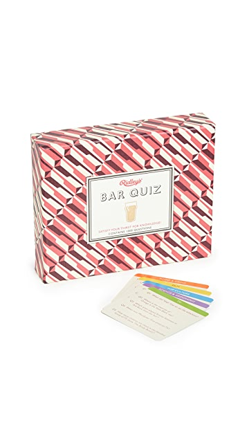 Gift Boutique Ridley's Games Bar Quiz