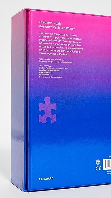 Gift Boutique Оригинальный пазл Areaware с плавными переходами цвета