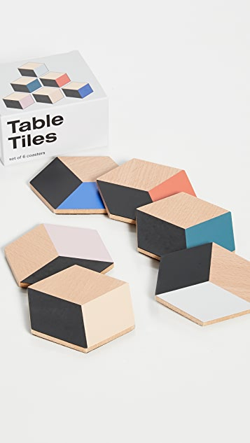 Gift Boutique Areaware Table Tiles