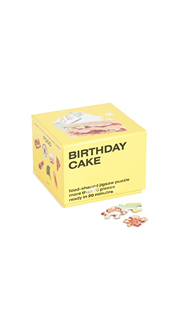 Gift Boutique Areaware Birthday Cake Little Puzzle