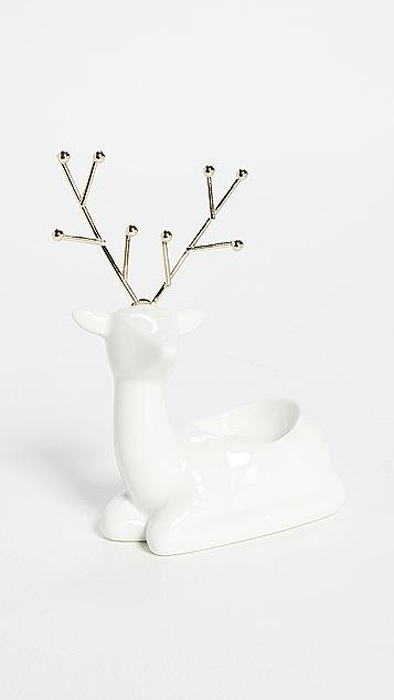 Gift Boutique Festive Reindeer Tealight Candleholder