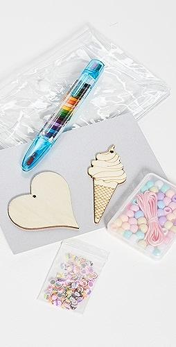 Gift Boutique - DIY Kids Draw On 项链套装