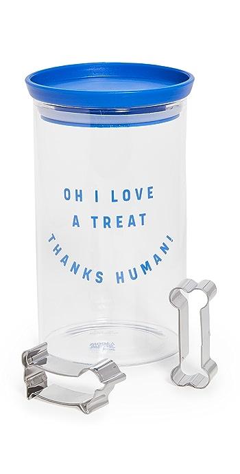 Gift Boutique Dog Treat Kit - Blue