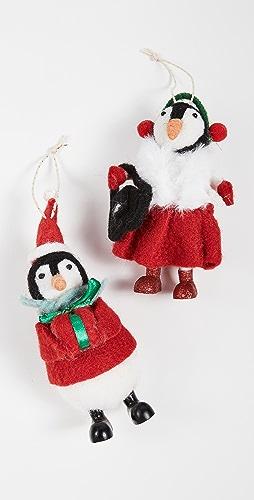 Gift Boutique - 企鹅装饰两件套