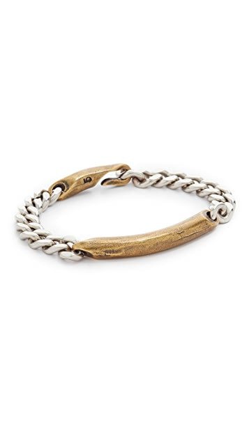 Giles & Brother ID Chain Bracelet
