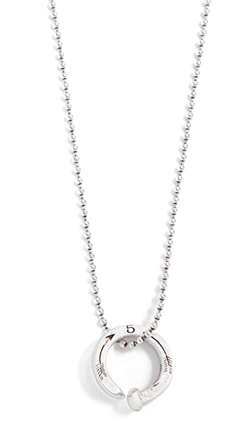 necklace ball bead sterling silver chain