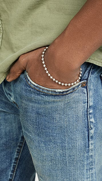 Giles & Brother Ball Chain Bracelet